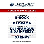 Daylight Beach All-Star Lineup For Memorial Day Weekend
