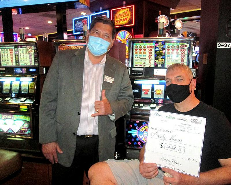 Darin turned his $4 bet into a $20,000 payday at Fremont