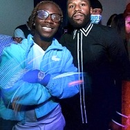 Chanel West Coast, Coolio, Floyd Mayweather and Tory Lanez Spotted at Blume Kitchen & Cocktails in Henderson, NV