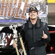 Trickle Ends Nearly Five-Year Winless Drought with Late Model Truck Series Victory at the Bullring at Las Vegas Motor Speedway