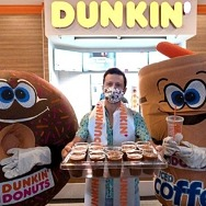 Dunkin's First Stores on the World-Famous Las Vegas Strip are Now Open at The LINQ Hotel + Experience