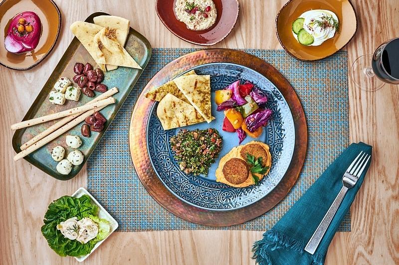 Mediterranean Food at Bacchanal