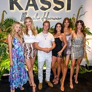 Kassi Beach House's Grand Opening Event at Virgin Hotels Las Vegas