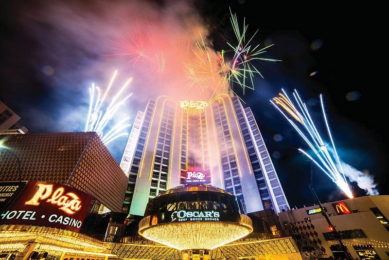 Plaza Hotel & Casino Plans Three Nights of Fireworks, July 2- 4