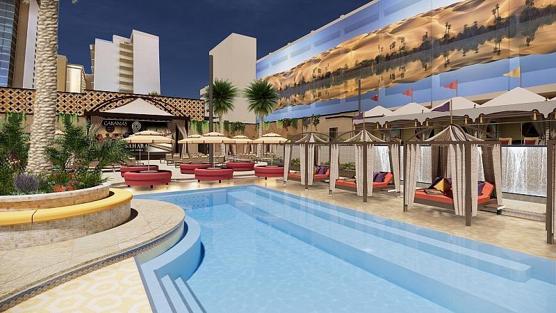 Azilo Ultra Pool at Sahara Las Vegas to Host Casting Call for Inaugural 2021 Pool Season Thursday, May 13 through Saturday, May 15