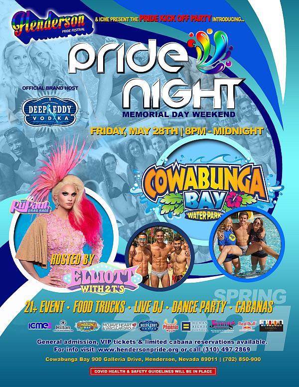 Pride Night Memorial Day Weekend
