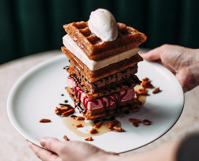The Anytime Waffle Tower