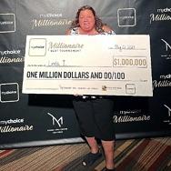 Ohio Player Wins $1 Million during 2021 mychoice Millionaire Slot Tournament at M Resort Spa Casino