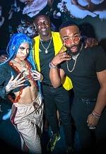 Grammy Award-Winning Recording Artist Akon Spotted at Blume Kitchen & Cocktails in Henderson, Nevada