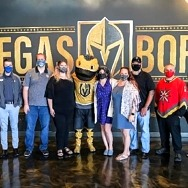 """America First Credit Union and Vegas Golden Knights Celebrate Teachers With """"Game-Changer"""" Award"""