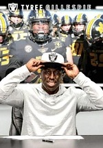 Raiders Sign Fourth-Round Pick S Tyree Gillespie