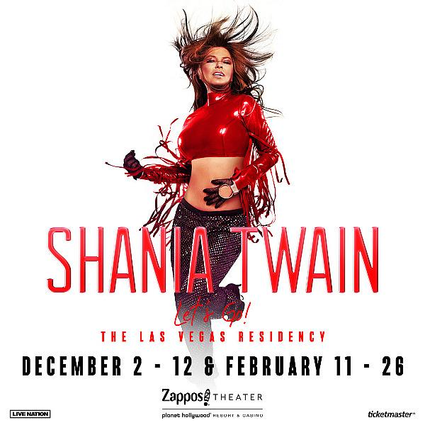 """Global Icon Shania Twain Announces 14 New Show Dates for Shania Twain """"Let's Go!"""" the Las Vegas Residency at Planet Hollywood"""