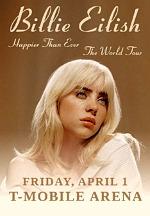 Billie Eilish Announces Happier Than Ever, the World Tour Coming to T-Mobile Arena April 1, 2022