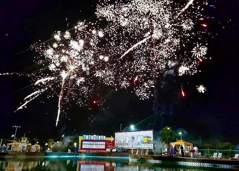 Fireworks at Cowabunga Bay