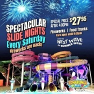 Summer Fireworks at Cowabunga Bay! Waterpark Celebrates Saturday Nights and 4th of July Weekend