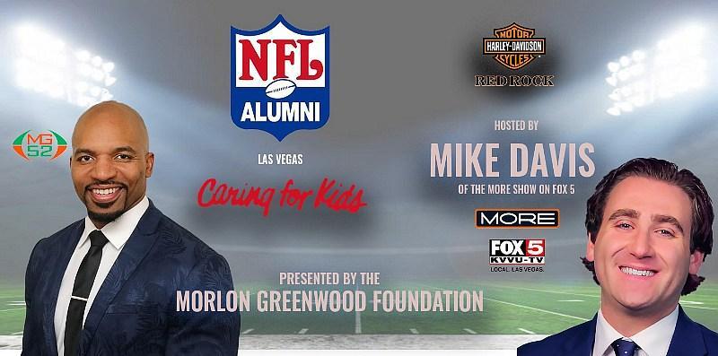 The Morlon Greenwood Foundation Inaugural Annual NFL Alumni Caring for Kids Fundraiser, June 17