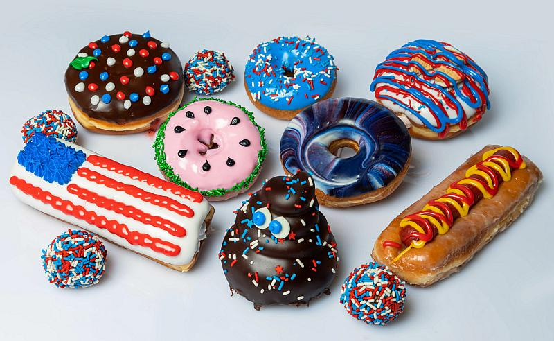 Pinkbox Doughnuts Celebrates Independence Day and Basketball with July Offerings