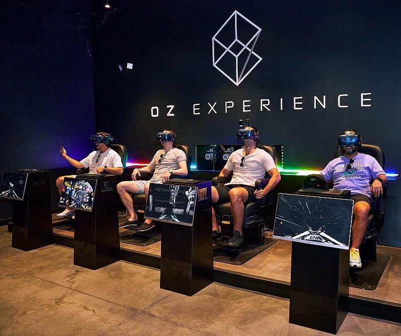 Jason Tartick and friends visit  OZ Experience