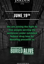 Jardin Premium Cannabis Partners with the Buried Alive Project to Amplify Minority Voices This Juneteenth