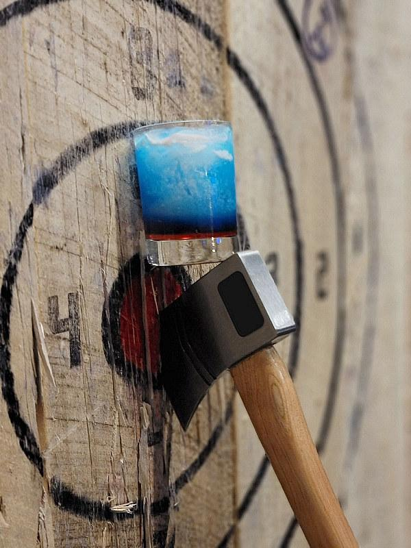 Dueling Axes celebrates Independence Day