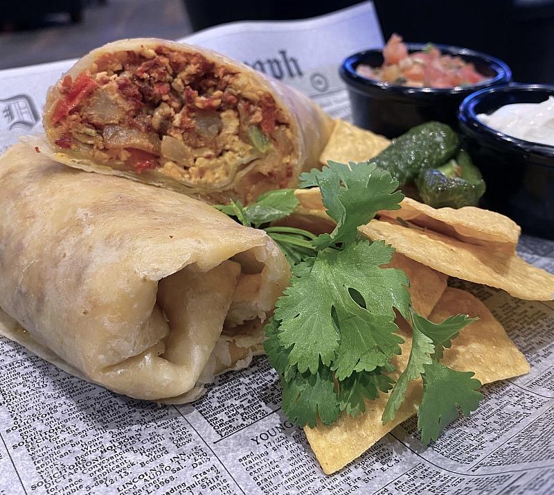 Golden Circle Breakfast Burrito