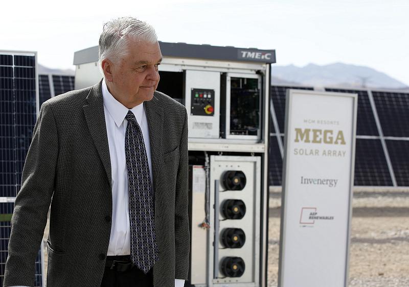Nevada Governor Steve Sisolak