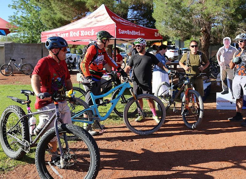 Outdoor Nevada Bike Ride and Proclamation Ceremony