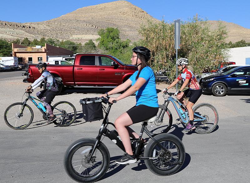 Outdoor Nevada Bike Ride