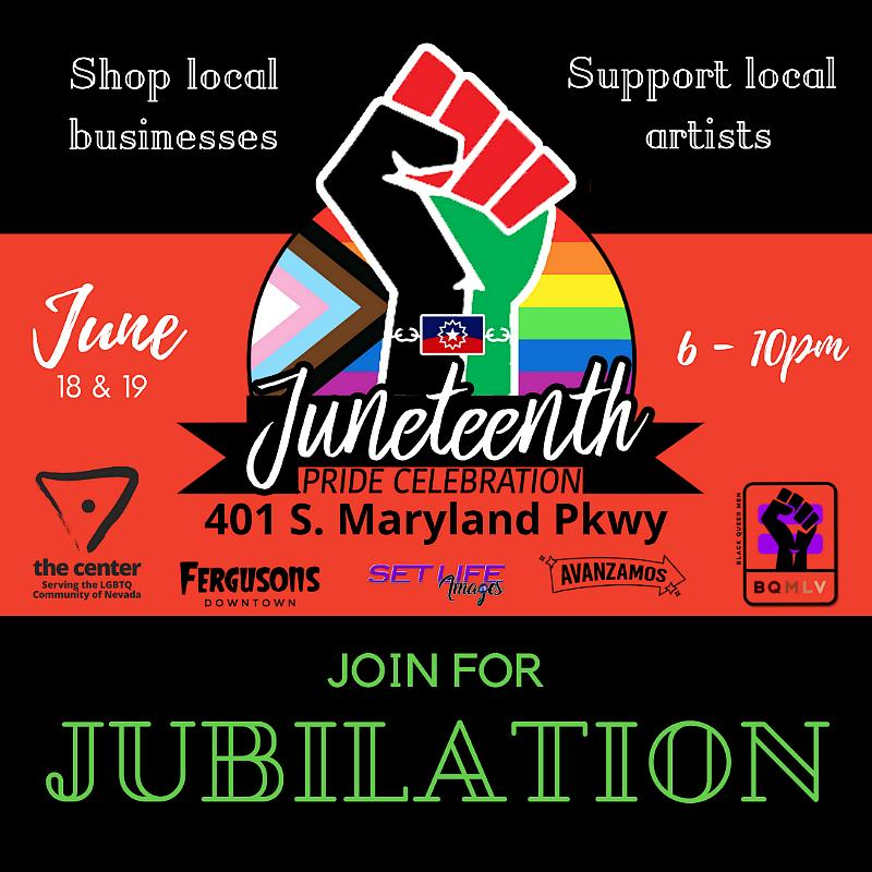 Come to The LGBTQ Center of Southern Nevada for a Weekend of PRIDE & Jubilation