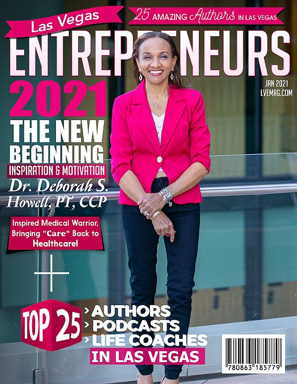 Local Vegas Physical Therapist Deborah S. Howell featured in Las Vegas Entrepreneurs