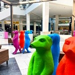 """Fashion Show Las Vegas Partners with International Artist Collective, Cracking Art, to Bring """"the Meerkat Meetup"""" to the Iconic Destination"""