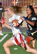 Raiders Host Girls Flag Football All-Star Game, Combine, Clinic