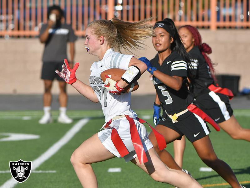 Raiders Host Girls Flag Football All-Star Game