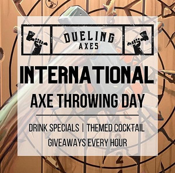 International Axe Throwing Day