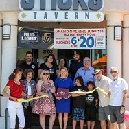 Sticks Tavern Celebrates Grand Opening with a Ribbon Cutting and Councilwoman Michelle Romero