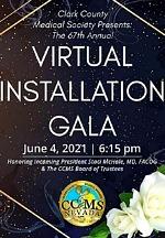 Clark County Medical Society's 67th Virtual Installation Gala