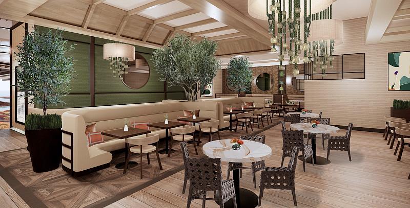 Zeffer's at Sahara Las Vegas (rendering)