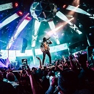 Wiz Khalifa Performs Las Vegas Strip's First Full-Length Post-COVID Concert to Sold-Out Audience at Drai's Nightclub