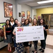 Dunkin' Joy in Childhood Foundation Gives $10,000 Grant to Nevada Childhood Cancer Foundation