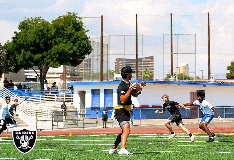 Raiders Host Nike 11-On Event for Southern Nevada Boys High School Football Teams