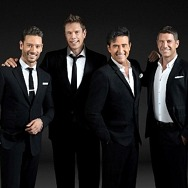 """Famed vocal superstarsIl Divo(Spain'sCarlos Marin, America'sDavid Miller, France'sSebastien Izambardand Switzerland'sUrs Buhler) will bring their """"For Once In My Life Tour"""" to theMichelob ULTRA ArenaSaturday, Aug. 14."""