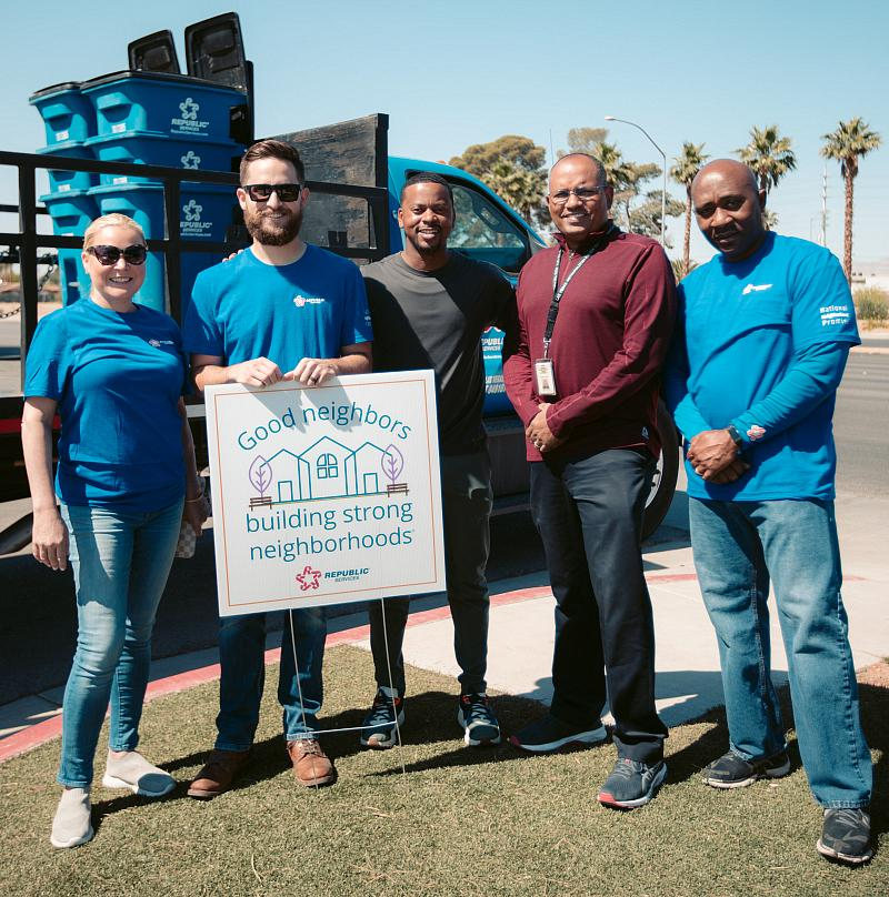 Rebuilding Together Southern Nevada and Republic Services Team up to Renovate Local Boys & Girls Club
