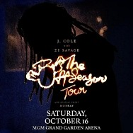 J. Cole Announces the off-Season Tour Coming to MGM Grand Garden Arena October 16, 2021