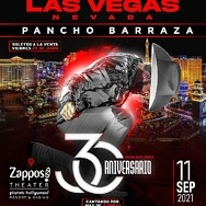 Pancho Barraza to Perform at Zappos Theater at Planet Hollywood Resort & Casino September 11, 2021