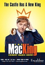 Mac King Brings His Signature Comedy Magic to Excalibur Hotel & Casino Beginning Tuesday, June 22