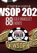 2021 World Series of Poker Daily Event Schedule Finalized