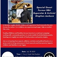 NBA Player Stephen Jackson to Host Community Food Donation Event for Local NonProfits, Press Conference 7/18 - 9am