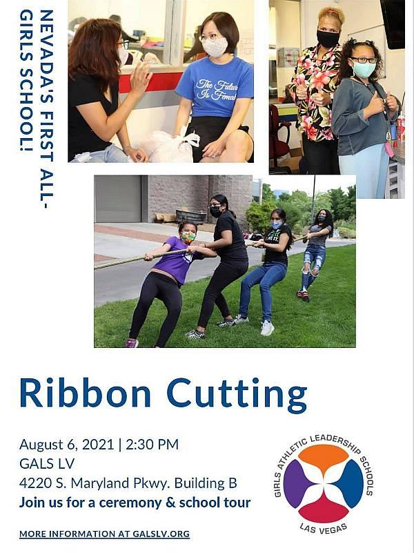 GALS ribbon-cutting on August 6, 2021