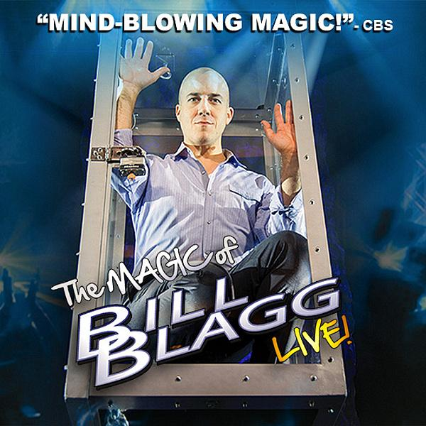 Magician Bill Blagg Coming to Vegas for First Time at South Point Casino & Hotel July 30th-August 1