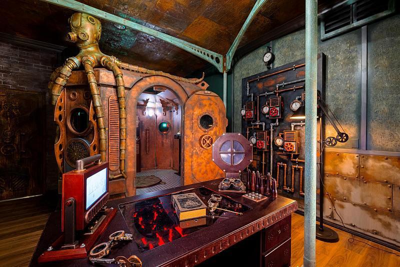 A Steampunk Story - Photo Credit PanIQ Room